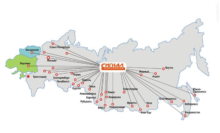 Карта оптовых поставок