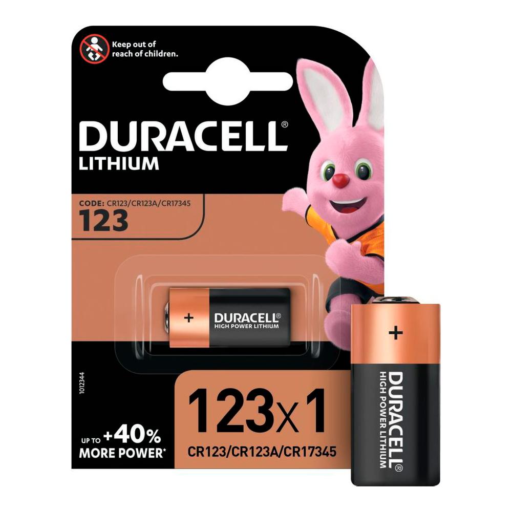 Э/п CR123А Duracell, BL1
