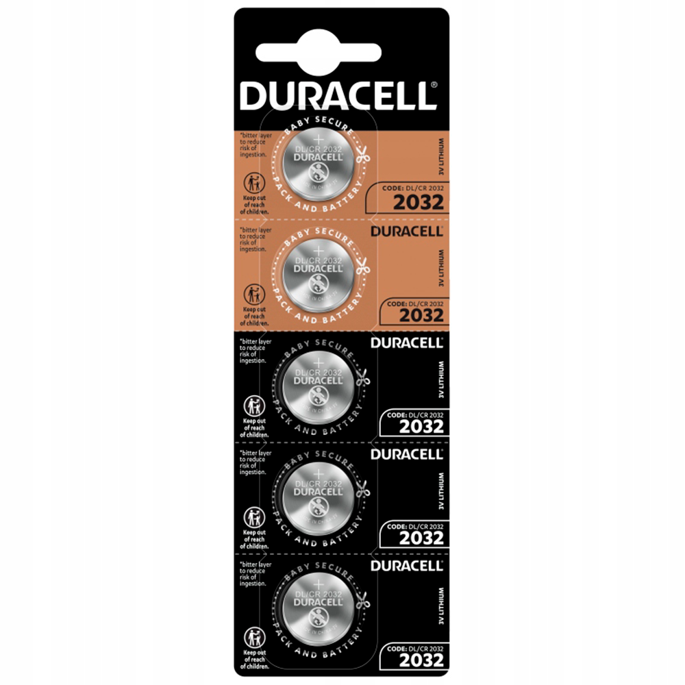 CR2032 Duracell, BL5