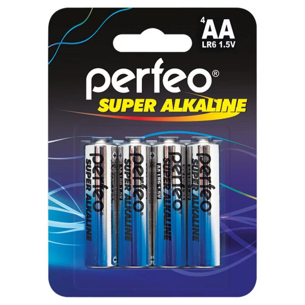 Э/п LR6 Perfeo Super Alkaline, BL4