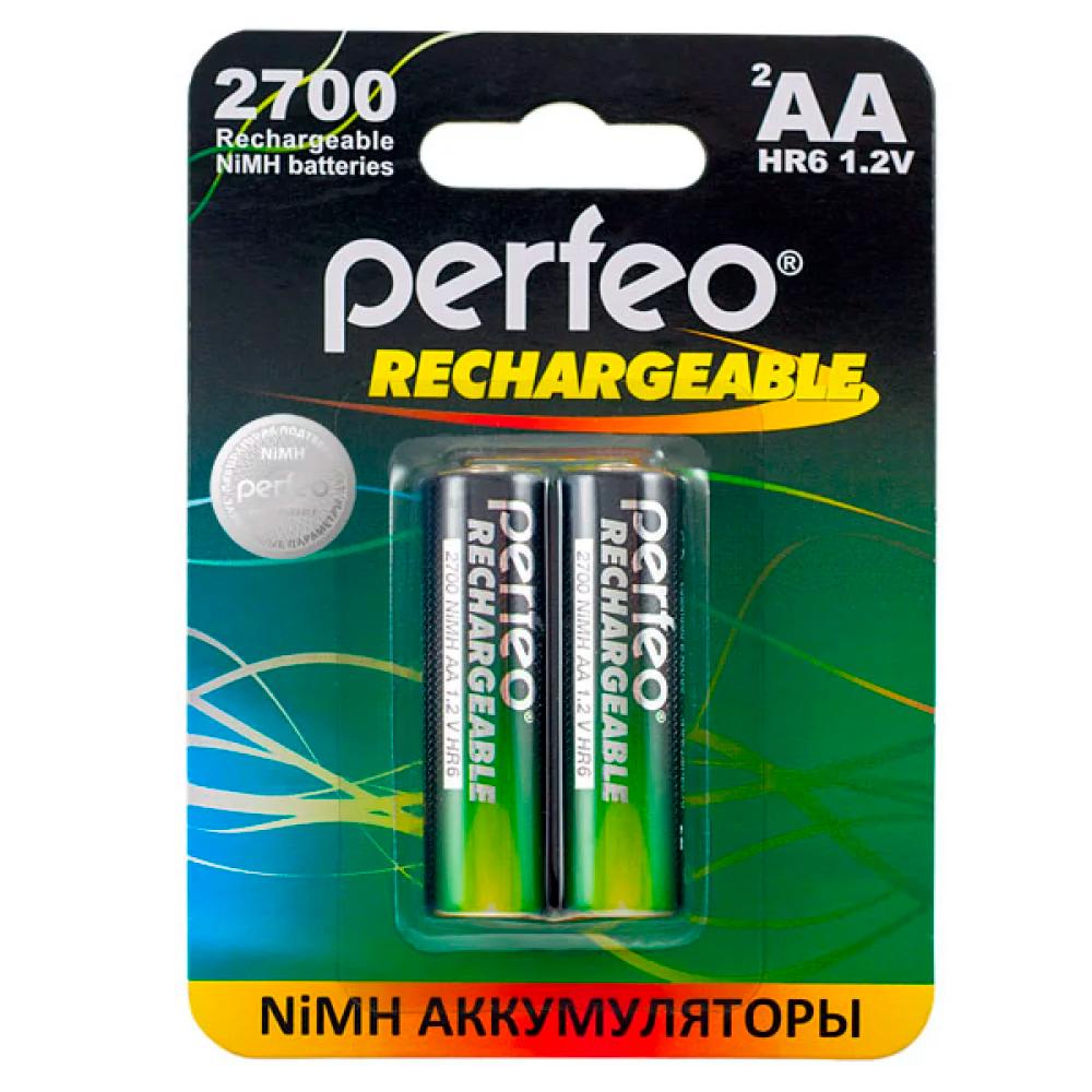 Ак-р R6 NiMh 2100mAh Perfeo, BL2
